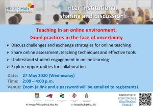 Teaching in an online environment: Good practices in the face of uncertainty @ Online
