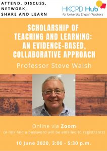 Scholarship of Teaching and Learning: An evidence-based, collaborative approach @ Online