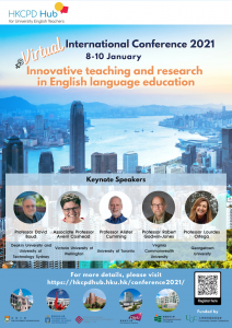HKCPD Hub Virtual International Conference 2021 for English teaching professionals worldwide @ Online
