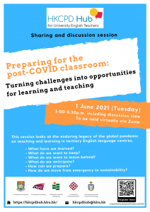 Preparing for the post-COVID classroom: Turning challenges into opportunities for learning and teaching @ Online